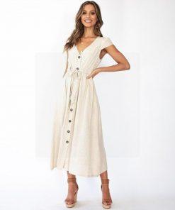 Weiße Hippie Kleider